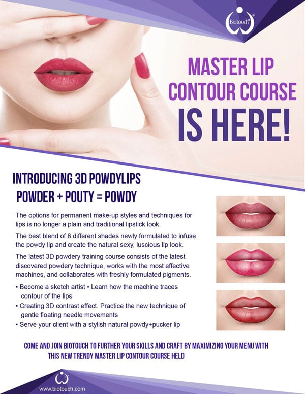 biotouch lip contouring training